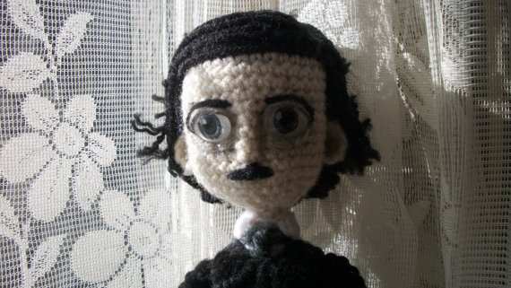 11 Knit & Crochet Projects Inspired by Edgar Allan Poe – Lots of Patterns!