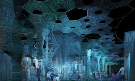 """This Yarn Can Absorb and Release Light! See """"Lumen"""" at MomaPS1 This Summer …"""