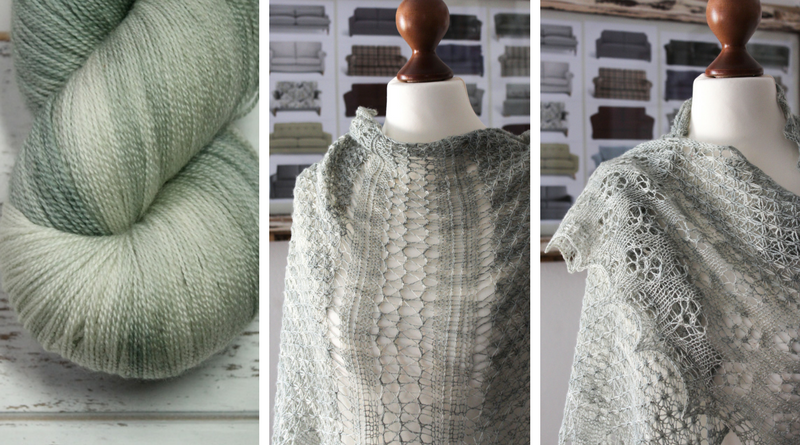 These Spellbinding Shawls Are Inspired by the Anatomy of Plants - Designed and Knit by Dr. Julia Riede