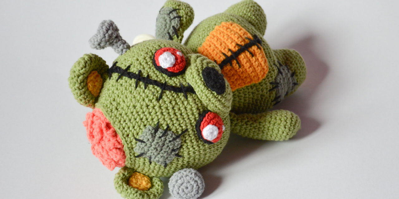 Finn's Pick: Frankie the Zombie – Crochet Amigurumi Pattern Available!