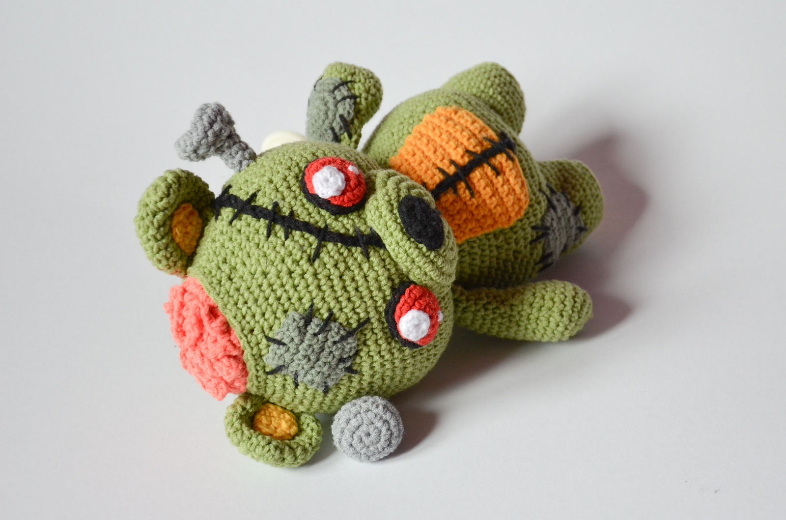 Finn\'s Pick: Frankie the Zombie – Crochet Amigurumi Pattern ...