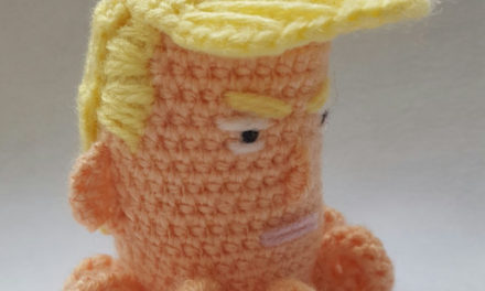 Crochet a Donald Trump – That Hair!