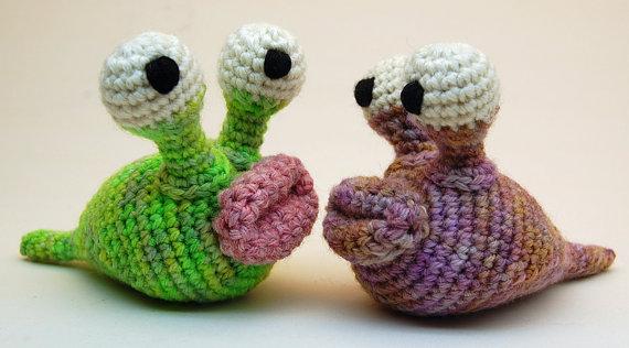 Finn's Pick: Crochet Garden Slug Amigurumi