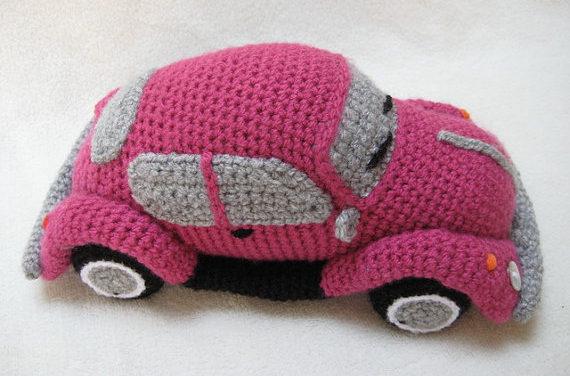 Crochet a VW Beetle Volkswagen Amigurumi – Such a Cute Bug!
