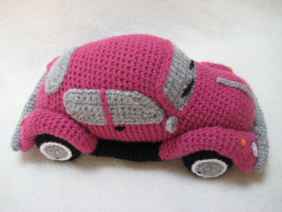 Crochet a VW Beetle Volkswagen Amigurumi – Such a Cute Bug!