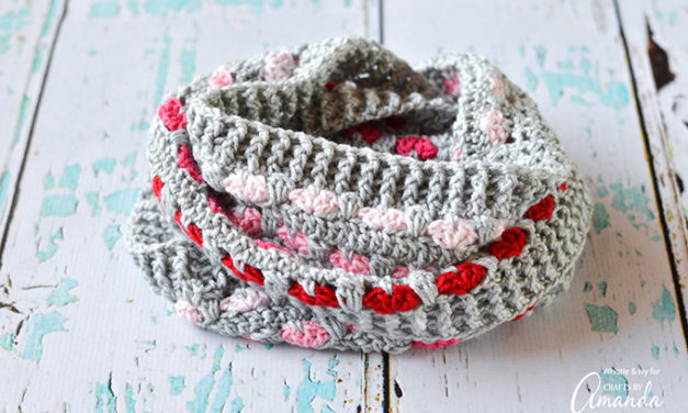 Put a Heart on It – Crochet This Cute Cowl For Love