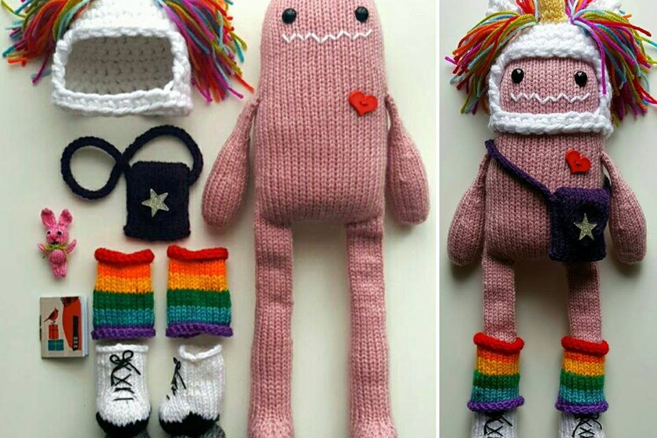 This Cheerful Knit Monster and His Zippy Doodads Will Have You Smiling For Days … Now With a Pattern!