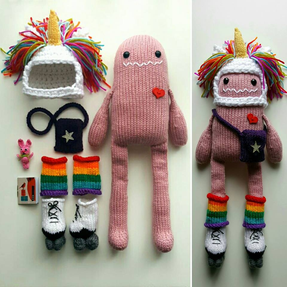 This Cheerful Knit Monster and His Zippy Doodads Will Have You Smiling For Days ...