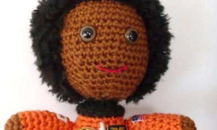 Crochet a Dr. Mae Jemison Amigurumi To Support Women in STEM!