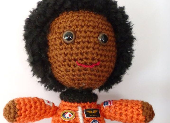 Crochet a Dr. Mae Jemison Amigurumi To Support Women in STEM!