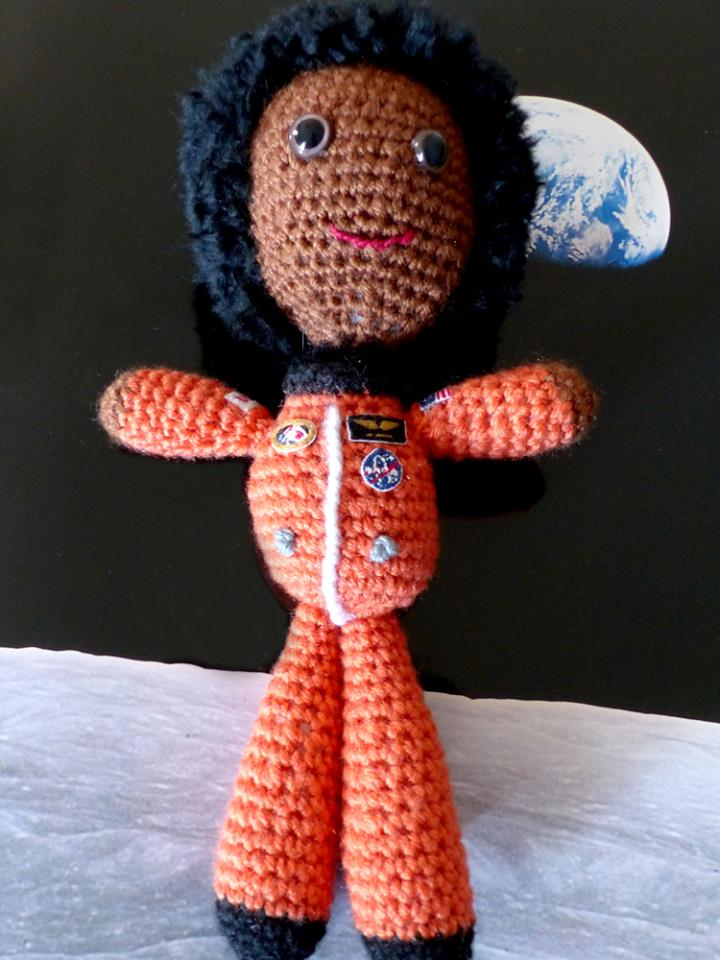 Crochet a Dr. Mae Jemison Amigurumi To Support Women in STEM