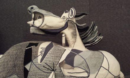 Incredible Crochet Tribute To Picasso – Italian Yarn Bombers Recreate Guernica in Yarn