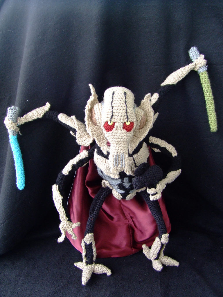 Incredible Crochet General Grievous - An Instant Star Wars Classic!
