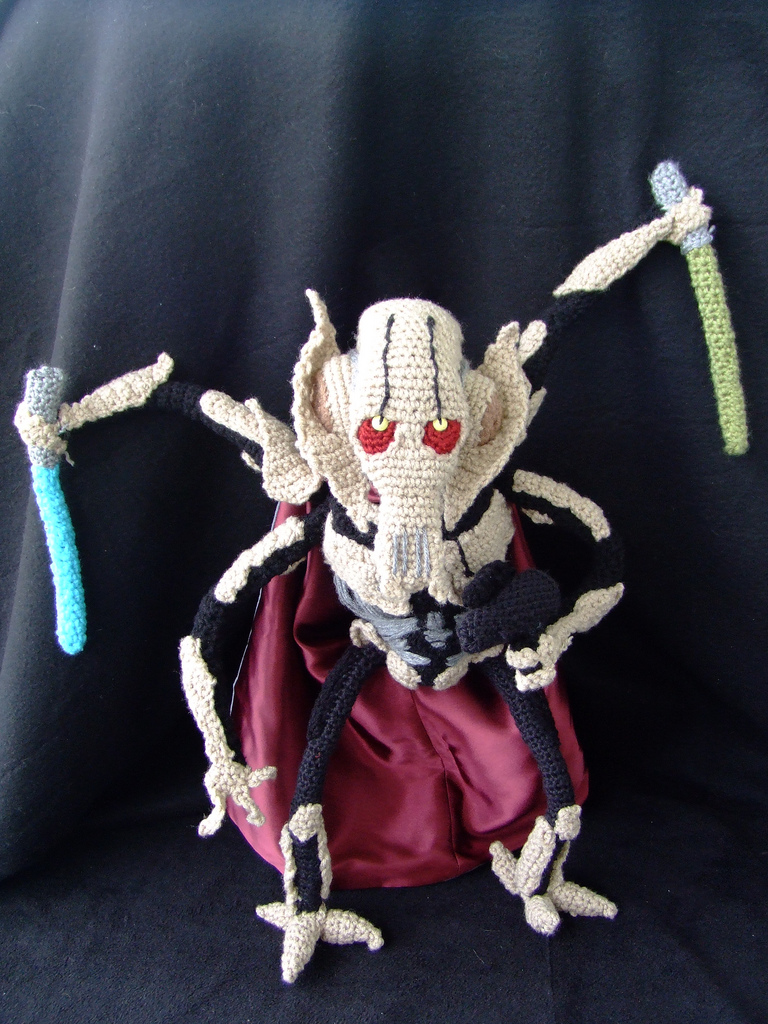 Finn's Pick: Incredible Crochet General Grievous – An Instant Star Wars Classic!