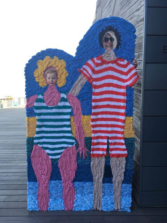 Have You Ever Seen A Hand-Knitted Photo Booth?