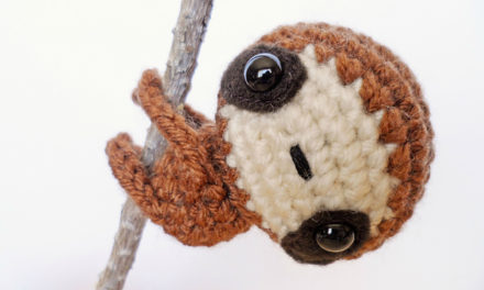 Finn's Pick: Zippy the Crochet Baby Sloth Amigurumi