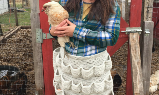 Crochet This Eggscellent Apron For the Family Farm OR Your Next Easter Egg Hunt!