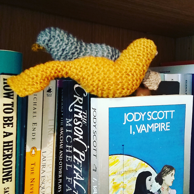 Put A Bird On Springtime With These Chicky Knit Bookmarks Free