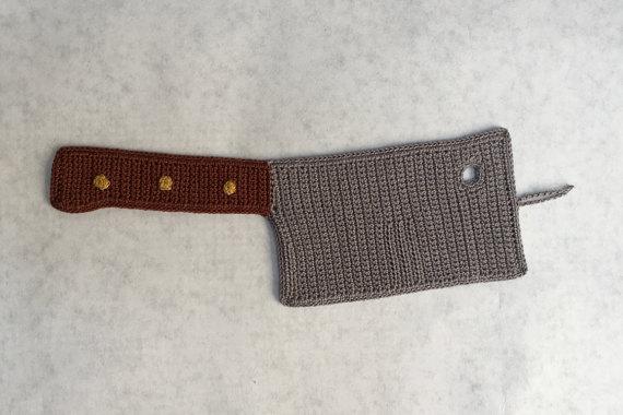 Machete, Cleaver, Chef Knife, Hatchet … Crochet Patterns For All The Knives