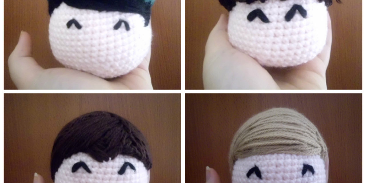 Here They Come … Monkees Amigurumi Crocheted By Lee Mac