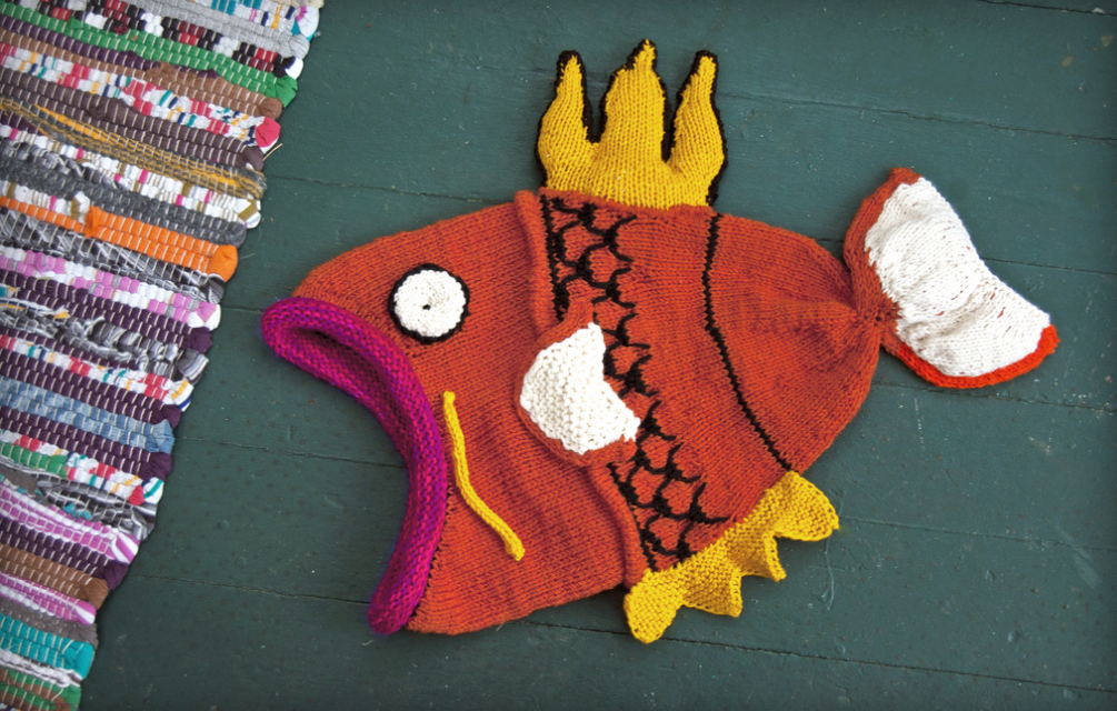Incredible Knitted Magikarp Hat By Kim Denise – Pokémon Fans, This is a Must-See!