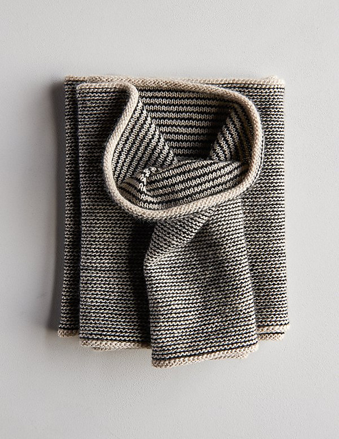 Knit a Newsprint Cowl - A Stylish New Pattern From Purl Soho