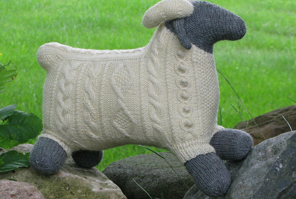 Everyone Who Sees Sam the Ram Wants To Knit One Right Away!