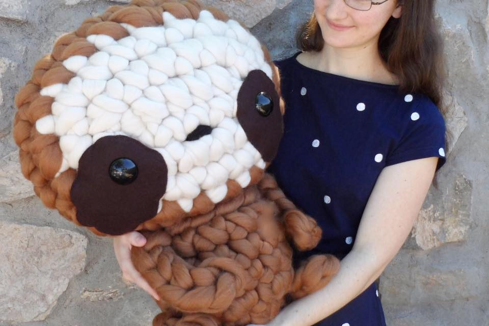 Meet Zippy The Sloth, A Five-Pound Amigurumi – He's Huge!
