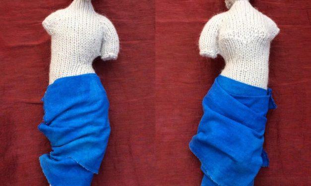 Venus de Milo Knitted By Indigo Nightowl