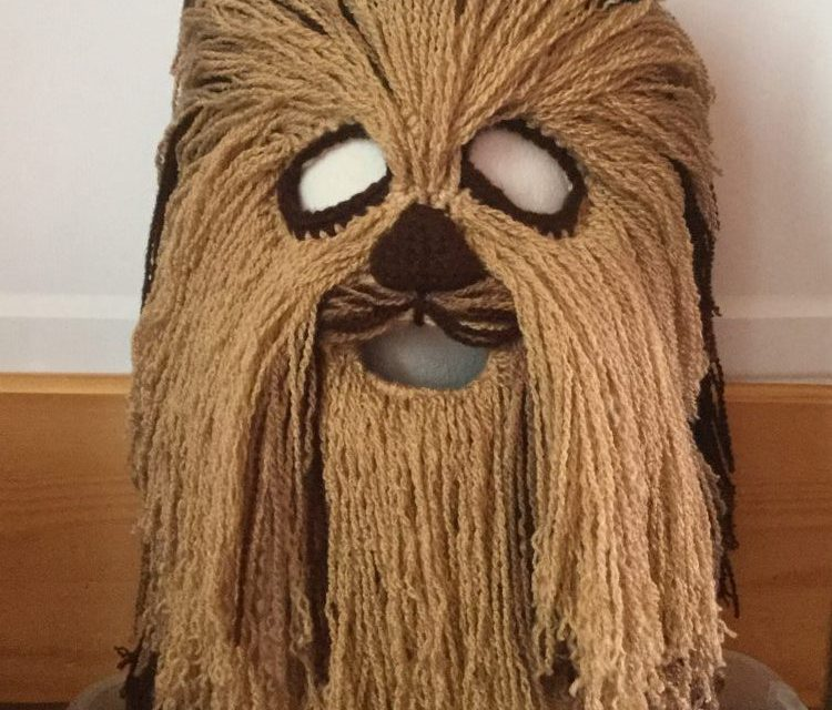 Finn's Pick: Christina Hooper's Crazy-Cool Crochet Chewbacca Mask