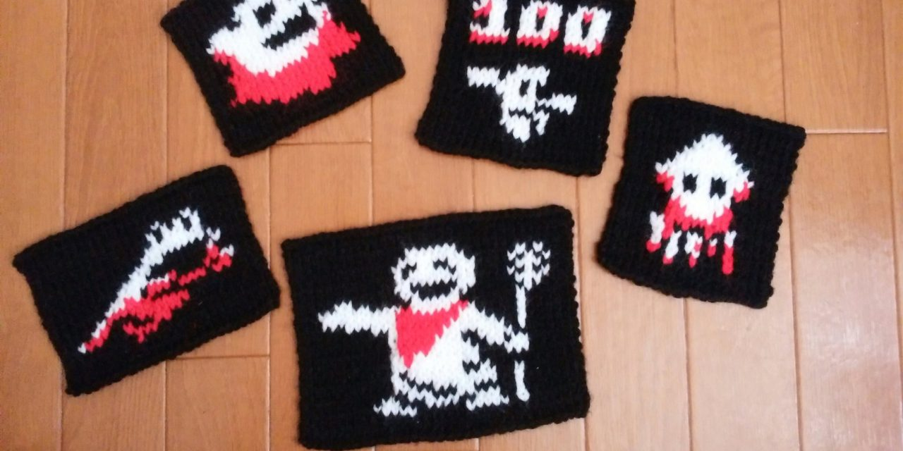 Downwell-Inspired Knits
