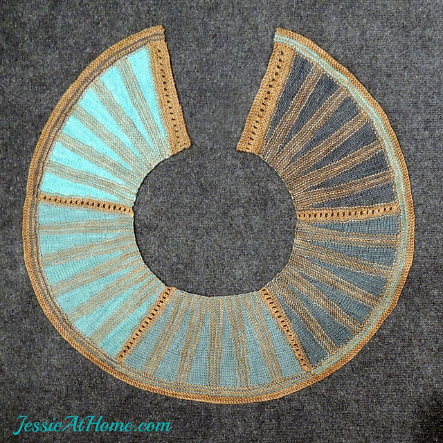 My Fellow Knitters, Here's A Must-Make! Marching Through the Looking Glass Wrap by Jessie Rayot