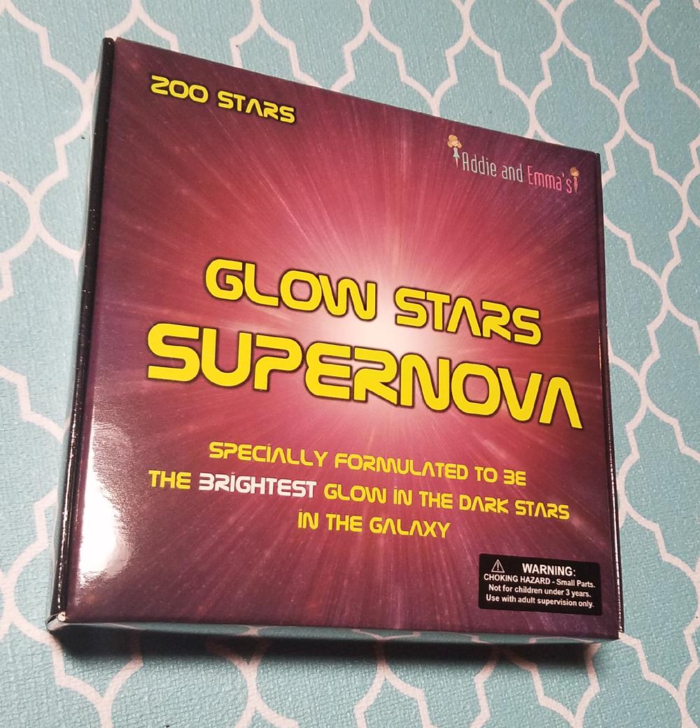 Addie And Emma's Glow Stars Supernova