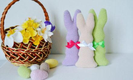Crochet a Chocolate Easter Bunny! Includes Mini-Eggs!
