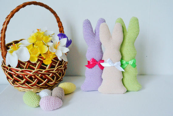Crochet a Chocolate Easter Bunny! Includes Mini-Eggs!