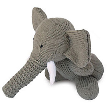 Finn's Pick: Knit Elephant by Sarah Keen – FREE Pattern!