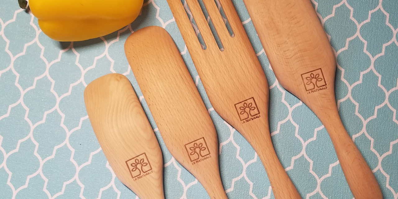 Review: Spurtle Wooden Spoons Set By LR Naturals