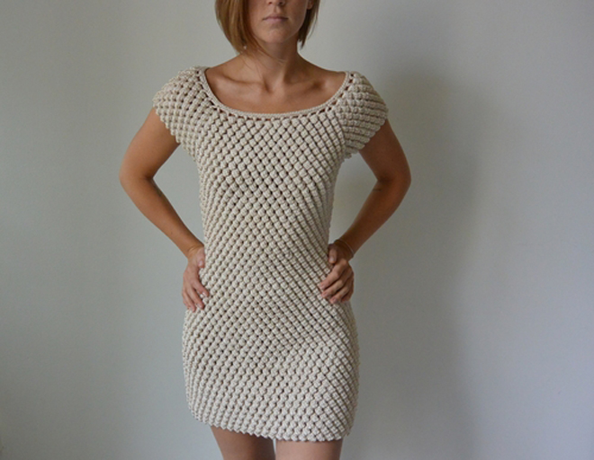 Fun and Flirty, This Captivating Crochet Dress Gets People Talking ...