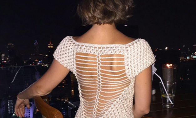 Fun and Flirty, This Captivating Crochet Dress Has People Talking …