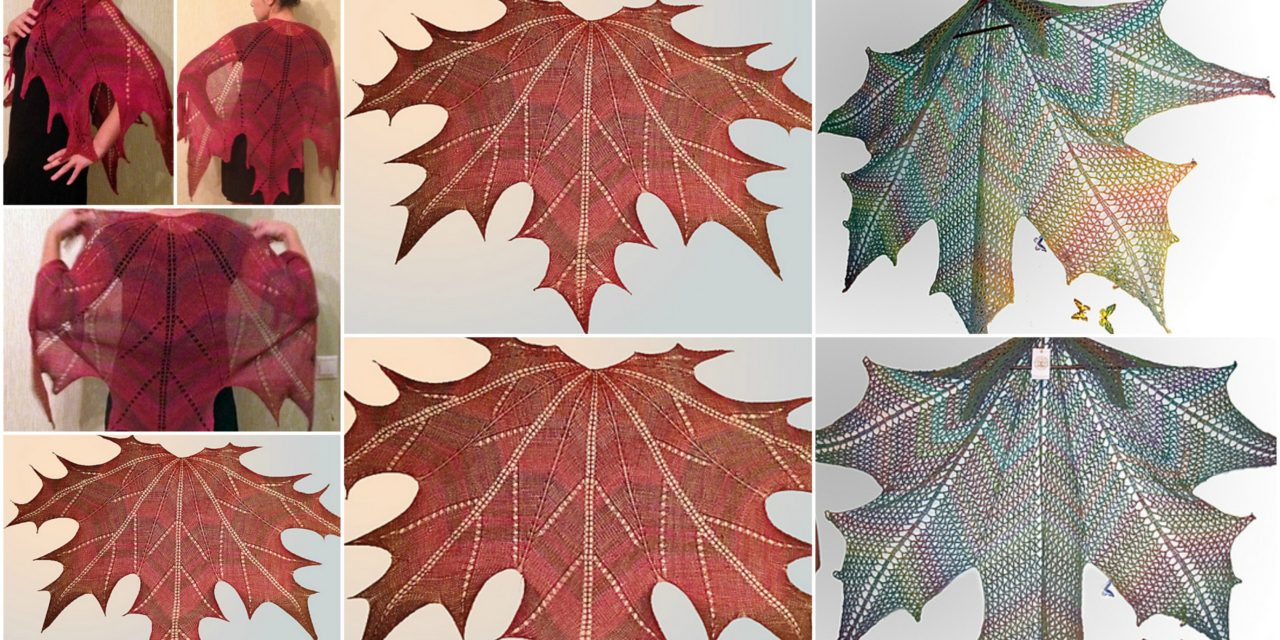 Canada Day is Coming … Knit or Crochet a Mesmerizing Maple Leaf Shawl