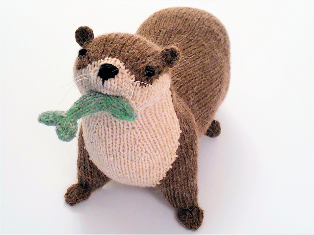 Make a Romp Of Otters - Fun Knit & Crochet Patterns!