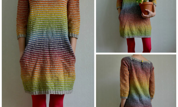 Colorful Still Light Tunic – Knit Rainbow Variation By MissKadri