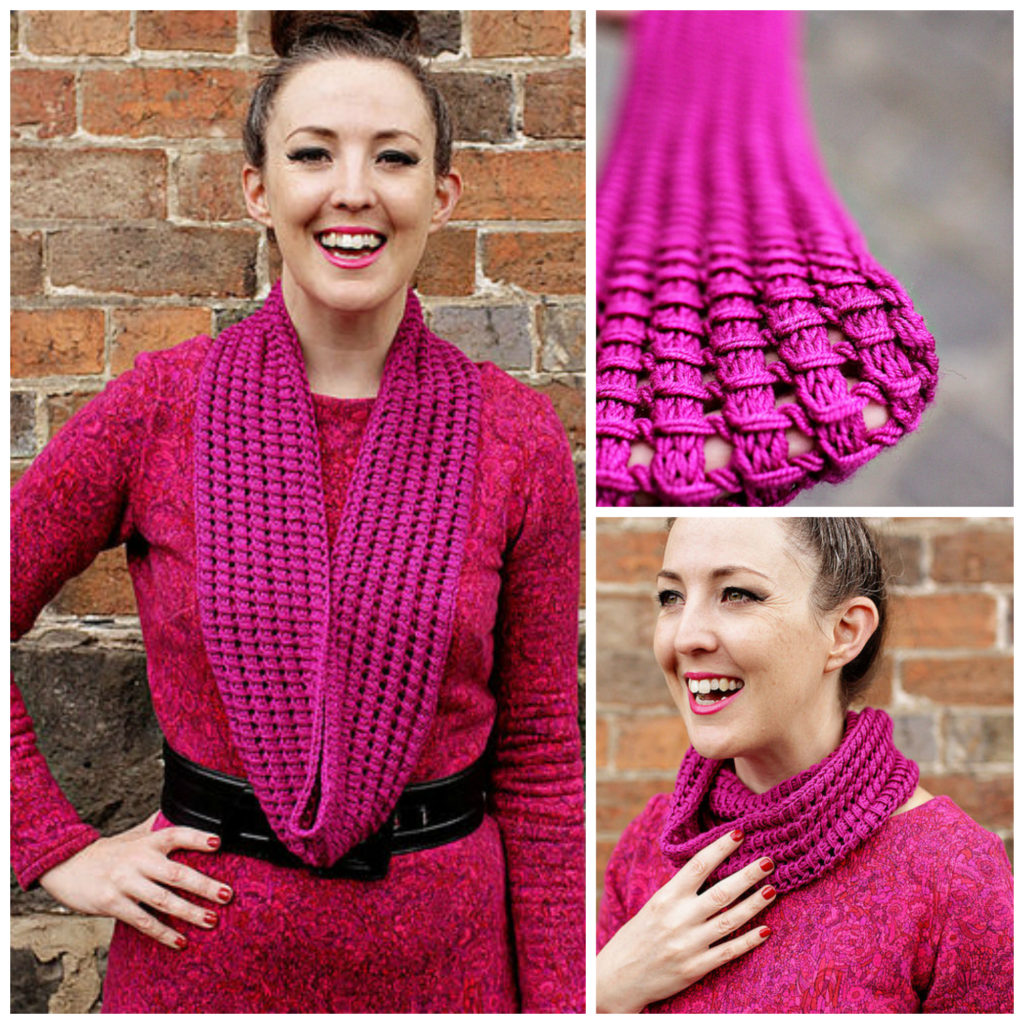 Knit A Tegwyn Cowl - Don't You Just Love This Stitch? Get the Pattern