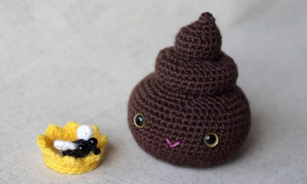 Finn's Pick: Crochet Princess Poop Amigurumi