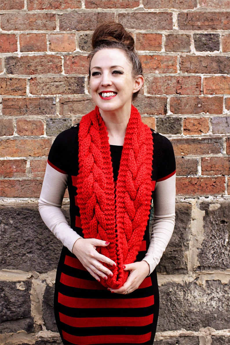 Get the knit pattern designed by Leisl Shanley #knitting