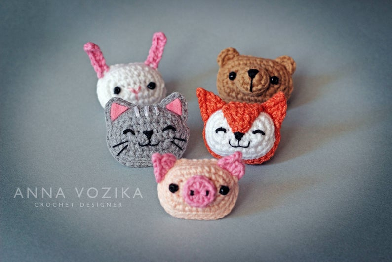 more crochet patterns by Anna Vozika
