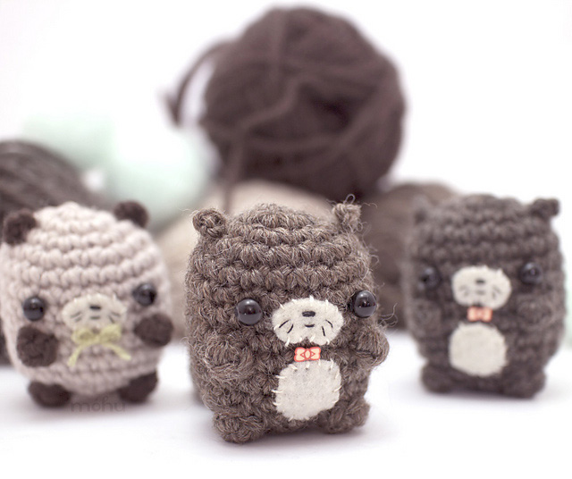 Make a Romp Of Otters – Fun Knit & Crochet Patterns!