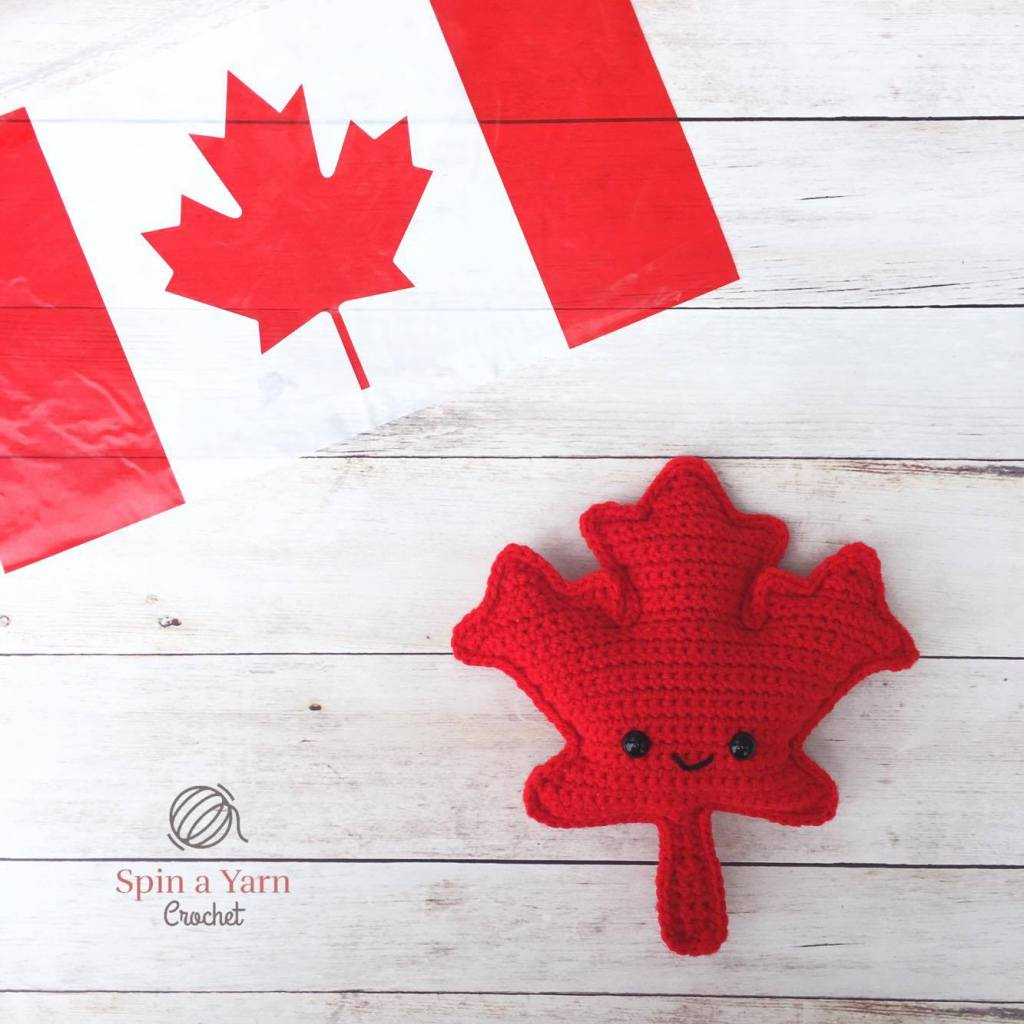 Canada Day is Coming, Crochet a Maple Leaf Amigurumi to Celebrate!
