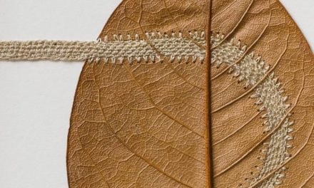 Recent Piece From Leaf Artist Susanna Bauer – It's a Delicate 'Path'
