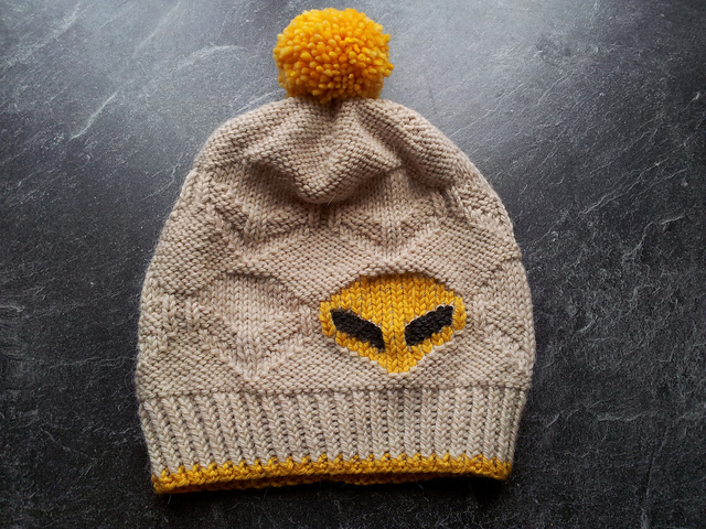Katharina Knit a Rad Roswell Hat!